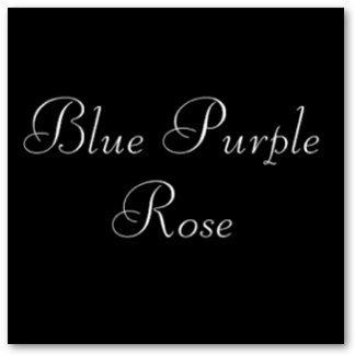 Blue Purple Rose