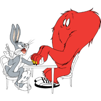 BUGS BUNNY™ and Gossamer 2