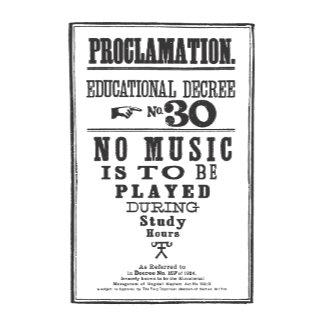 Proclamation 30