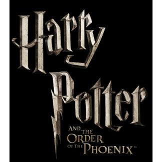 HARRY POTTER AND THE ORDER OF THE PHO Stacked Logo