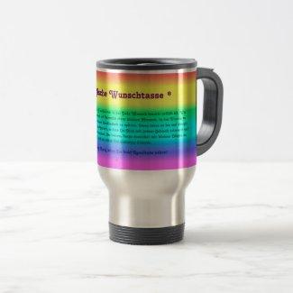 Tasse - Magische Wunschtasse mit Zauberkraft!